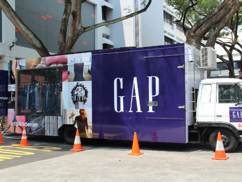 Gap 1969 Denim Exchange truck b