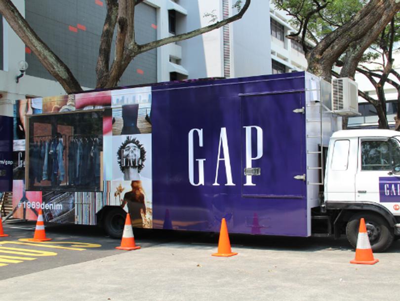 Gap 1969 Denim Exchange truck b