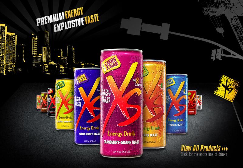 Xs Energy Drink Car